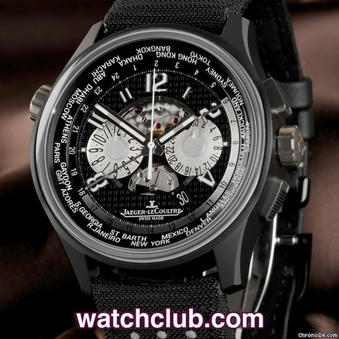 Jaeger-LeCoultre Amvox Ltd Ed - Ceramic World Time Chrono