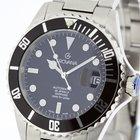 Grovana Swiss Made Automatic Diver Watch Black Bezel NEW 2Y...