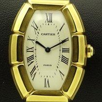Cartier Tonneau Bambou 18 KT Yellow Gold