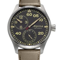Alpina Startimer Pilot Regulateur Manufacture NEU LP 2.650&eur...