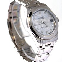 Rolex Midsize Datejust Used Watch With Meteorite Stone Face ...