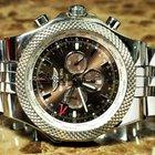 Breitling Bentley GMT Bronze Dial Steel Bracelet box and papers