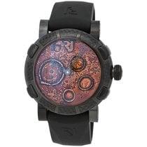 Romain Jerome Black Mood Ochre LE Automatic Men's Watch –...