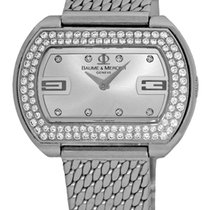 "Baume & Mercier Lady's Stainless Steel  ""Diamond..."