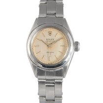 Rolex Ladies Vintage Steel Oyster Precision Silver Dial, Ref:...
