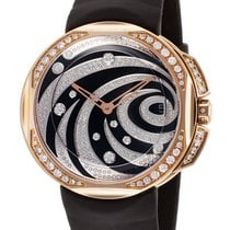 Clerc Odyssey Lady 18 k Rose Gold and Diamonds Watch OL-Q-5B4...