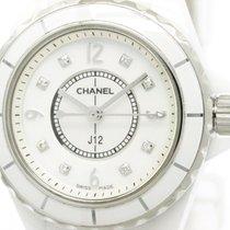 Chanel Polished Chanel J12 Diamond Mop Dial Ceramic Quartz...