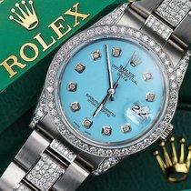 ロレックス (Rolex) Exclusive Diamond Rolex 15200 34mm Stainless...