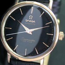 Omega Seamaster DeVille Automatic Gold Cap Steel Mens Watch