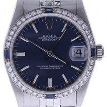 Rolex Datejust 68274 31 Millimeters Blue Dial