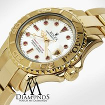 勞力士 (Rolex) Ladies Rolex Yacht-master 18kt Yellow Gold Mop...