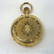 Anonimo 18K Gold Pocket Watch