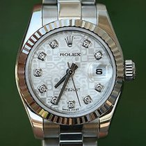 Rolex Ladies 26mm Datejust Stainless Steel Factory Jubilee...