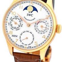 """IWC """"Portuguese Perpetual Calendar II"""" Strapwatch."""
