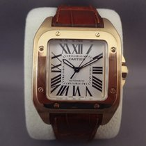 Cartier Santos 100 Midsize 18K Yellow gold / 33mm