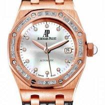 Audemars Piguet Royal Oak Mother of Pearl Diamond Ladies Watch