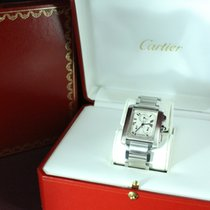 Cartier Chronoflex Stainless Steel W51001Q3