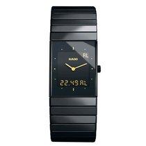 Rado Men's R21324162 Ceramica  Digital Quartz Watch