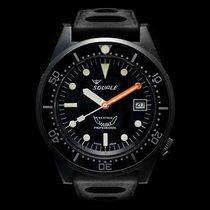 Squale Professional 500mt -1521-0 26 Black PVD, tropic strap
