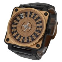 Bell & Ross BR01 Casino Ceramic Case and Rose Gold Top