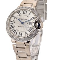 Cartier WE902065 Ballon Bleu Ladies 33mm Automatic in White...