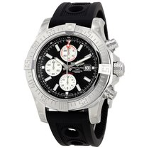 Breitling Super Avenger II Black Dial Mens Watch A1337111/BC29...