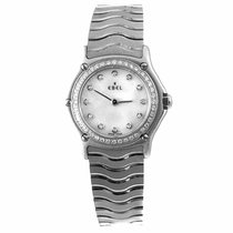 Ebel Sport Classic Ladies Diamond and Mother of Pearl Watch...
