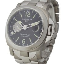 Panerai PAM00161 PAM 161 - Luminor 44mm GMT - Titanium and...