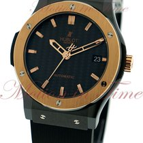 Hublot Classic Fusion 45mm, Black Carbon Dial, Rose Gold Bezel...