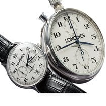 Longines Honour and Glory Set Ouro Branco 18Kt