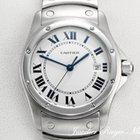 Cartier SANTOS RONDE STAHL DATUM MEDIUM