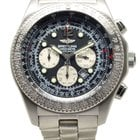 Breitling B2 Automatic Chronograph Steel Watch Black Dial A42362
