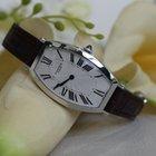 Cartier Tonneau 18kt White Gold Diamond Ladies Watch