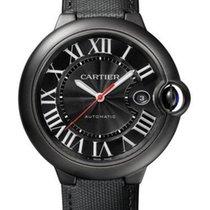 Cartier Ballon Bleu de Cartier Carbon in Black ADLC Coated Steel