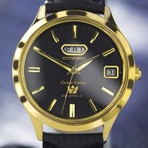 Citizen Custom Mens Deluxe Gold Plated Day Date Automatic...