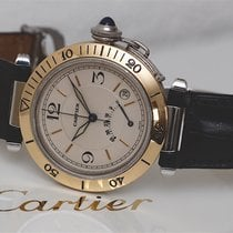 Cartier Pasha Power Reserve Gold and Steel