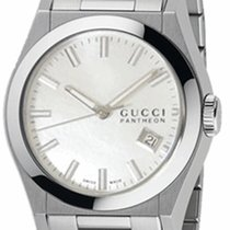 Gucci PANTHEON STAINLESS STEEL WITH MOTHER OF PEARL DIAL WATER...