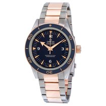 Omega Seamaster 300 Titanium and 18K Rose Gold Mens Watch...