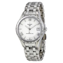 Tissot Lady 80 Automatic White Mother of Pearl Dial Ladies...