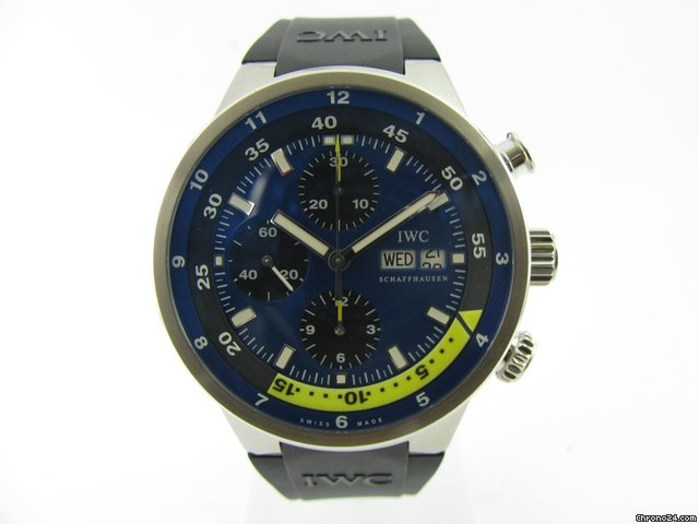 IWC Aquatimer Chronograph &amp;#39;Cousteau Divers&amp;#39; 	mit 2 J. Garantie