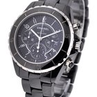 Chanel J12 Black Chronograph H0940