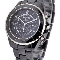 Chanel J12 Black Chronograph H0940