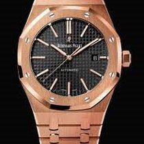 Audemars Piguet Royal Oak 41mm - rose gold - black dial -...