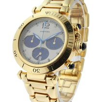 Cartier pasha_18k_chrono_yg 38mm Pasha Chronograph Yellow Gold...