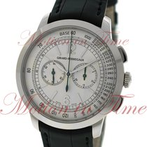 Girard Perregaux 1966 Chronograph, Silver Dial - White Gold on...