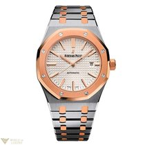 Audemars Piguet Royal Oak Automatic 41mm Stainless Steel Rose...