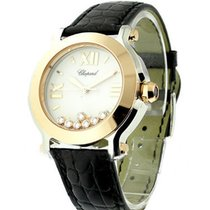 Chopard Happy Sport Round Rose and Steel
