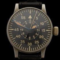 A. Lange & Söhne Luftwaffe Vintage Stainless Steel Gents...