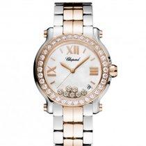 Chopard 278488-6001 Happy Sport 36mm Gold Diamonds Lady
