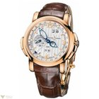 Ulysse Nardin GMT 42mm Rose Gold Perpetual Mens Watch